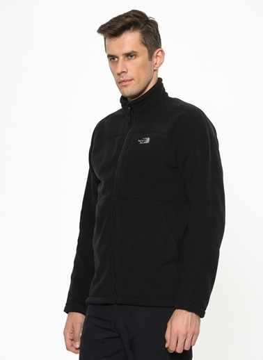 The North Face 200 Shadow Full Zip Erkek Sweatshirt Siyah